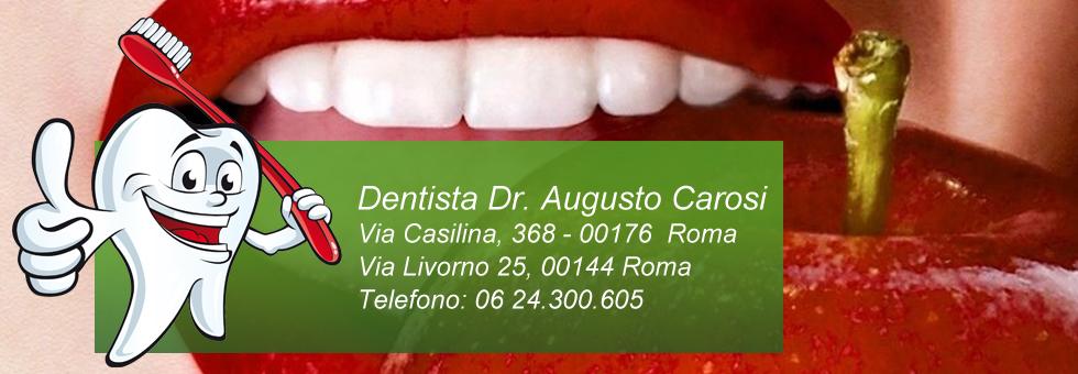Dentista Dr. Augusto Carosi